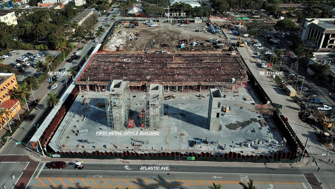 Construction update as of March 5, 2020
